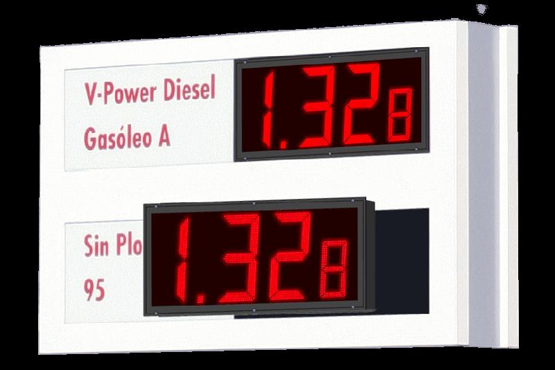 Precios de Combustible LED 15
