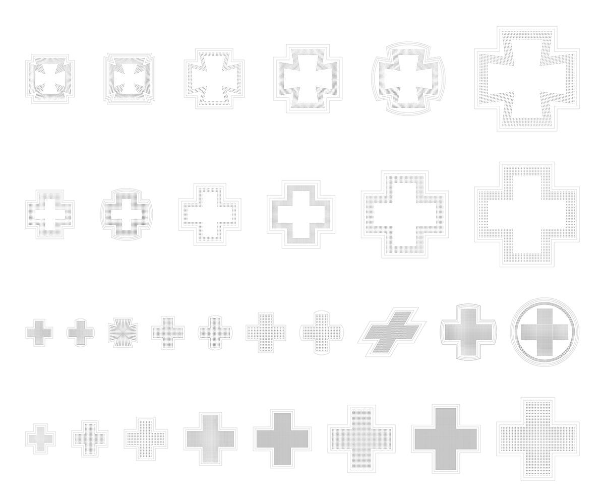 Especificaciones de las cruces de farmacia 1