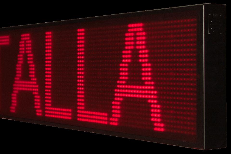 Pantallas de LED para textos 17