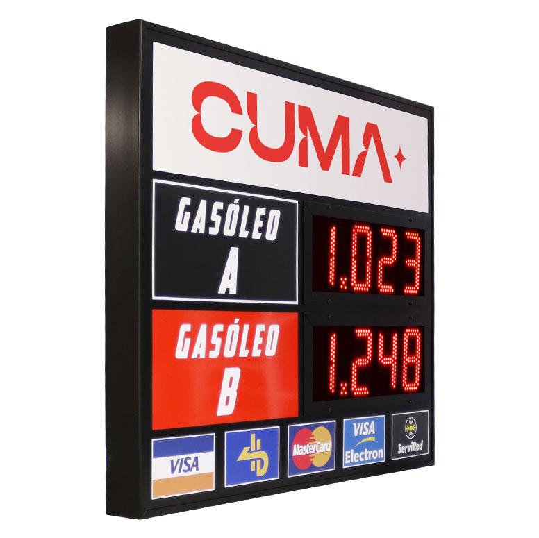 Precios de Combustible LED 14