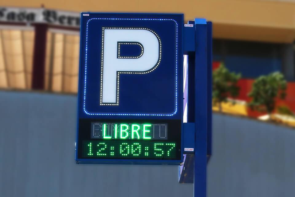 Banderolas para Parkings 17