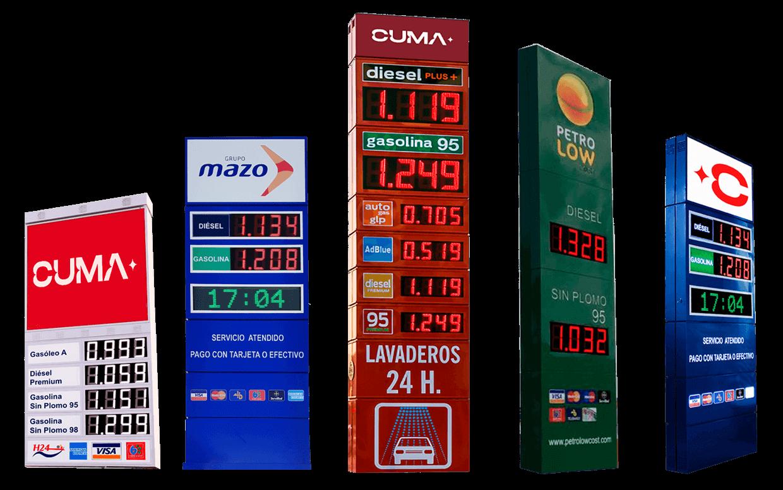 Monolitos para gasolineras 3