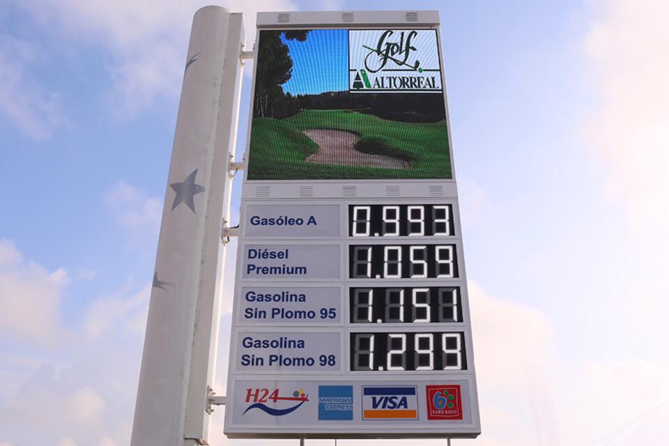 Monolitos para gasolineras 1