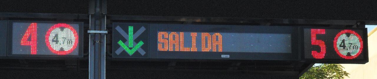 Paneles LED para tráfico 1