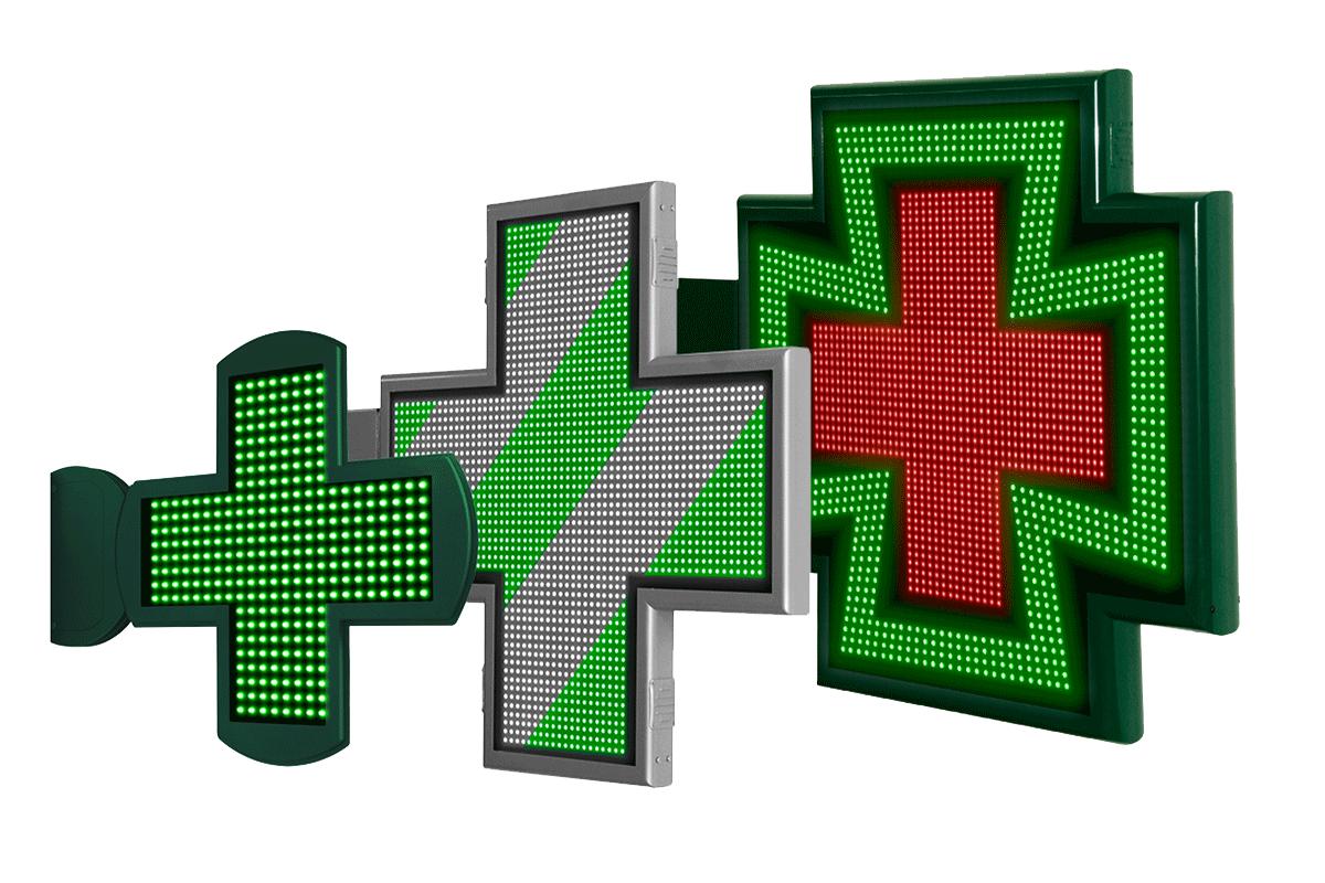 Cruces de Farmacia LED