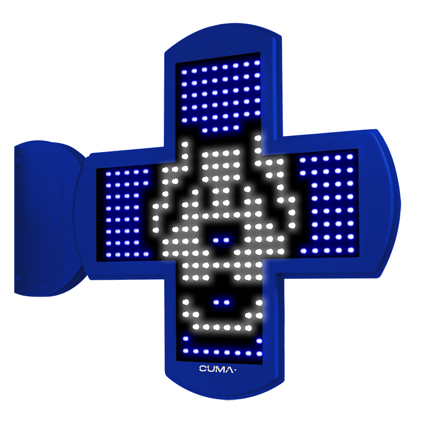 Cruz para clínicas Veterinarias LED