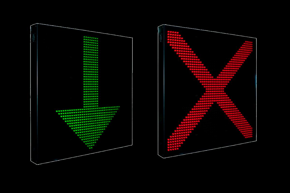 Paneles LED para tráfico