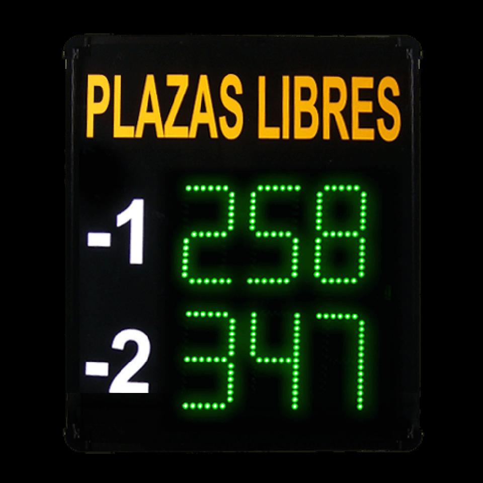 Totalizador de Plazas 2