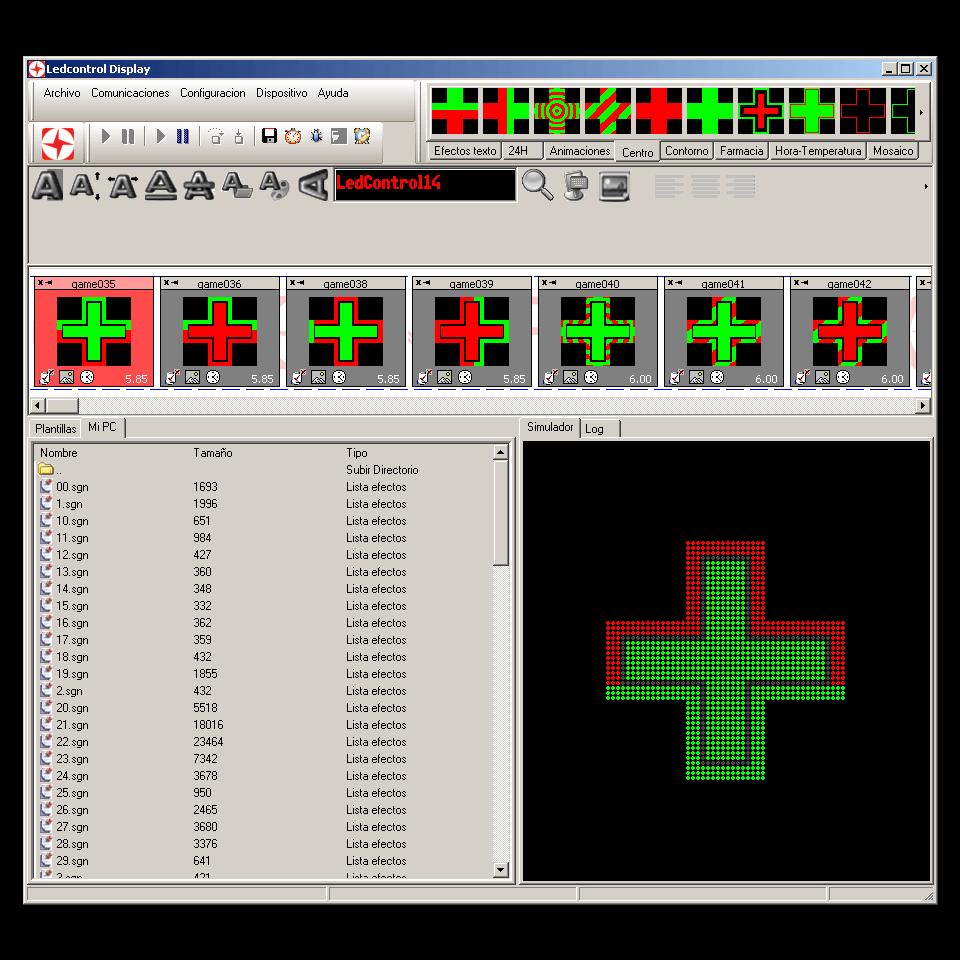 LedControl Display 1