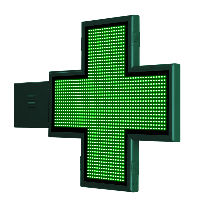 Cruz de Farmacia con animaciones 3D