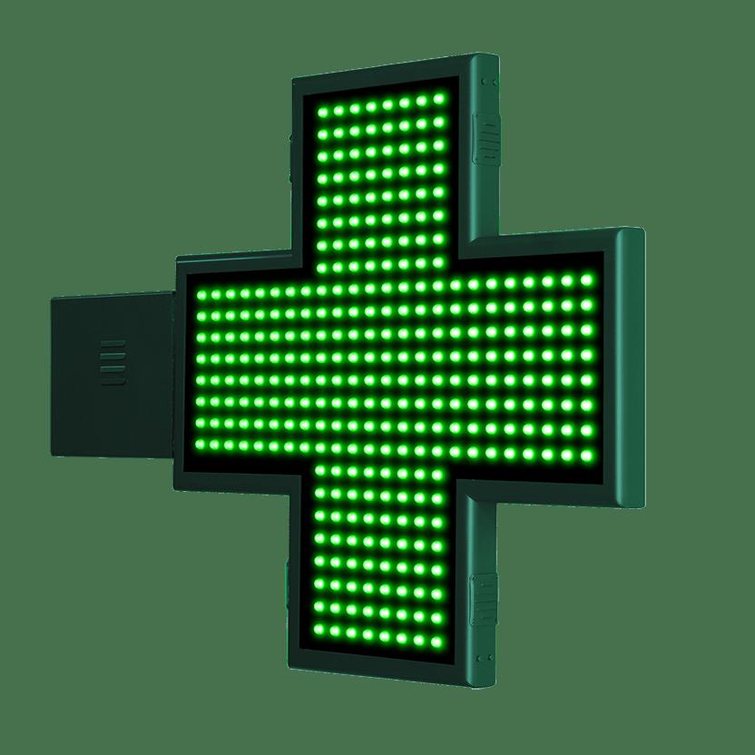 Cruz de Farmacia con animaciones 2D