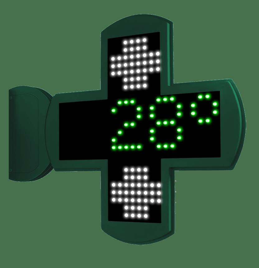 Cruces para Farmacias LED con perfil Ultra Slim