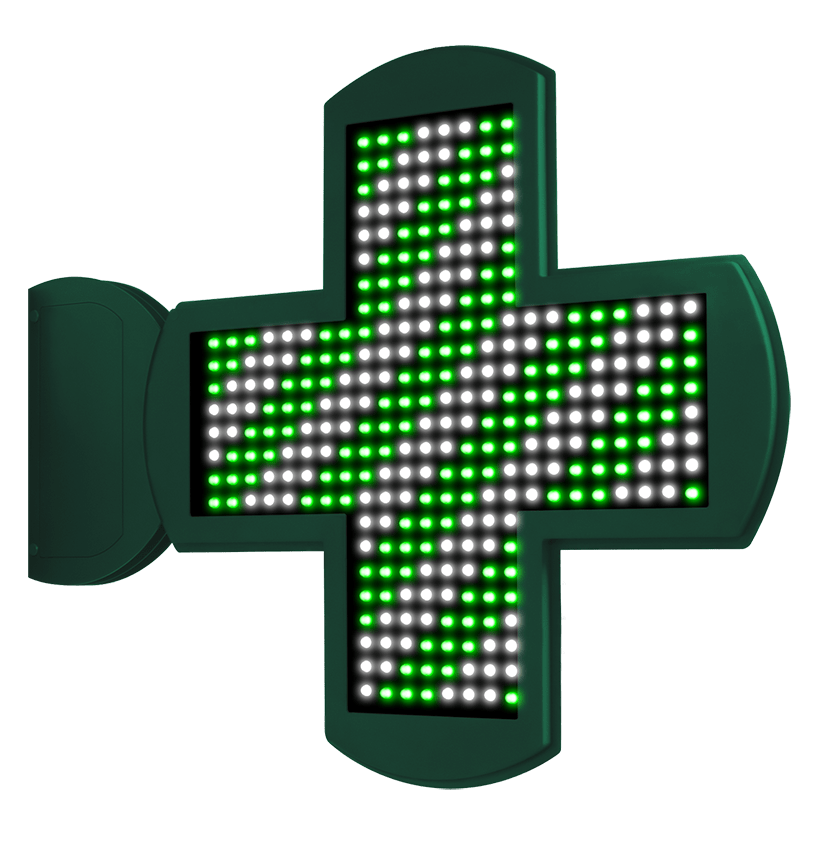 Cruces de Farmacia LED con perfil Ultra Slim