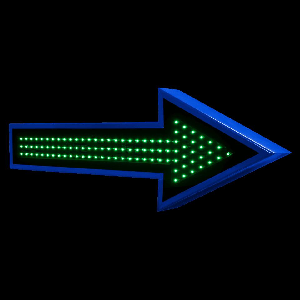 Flecha LED 1