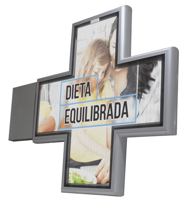 Cruz de farmacia video full color cuma