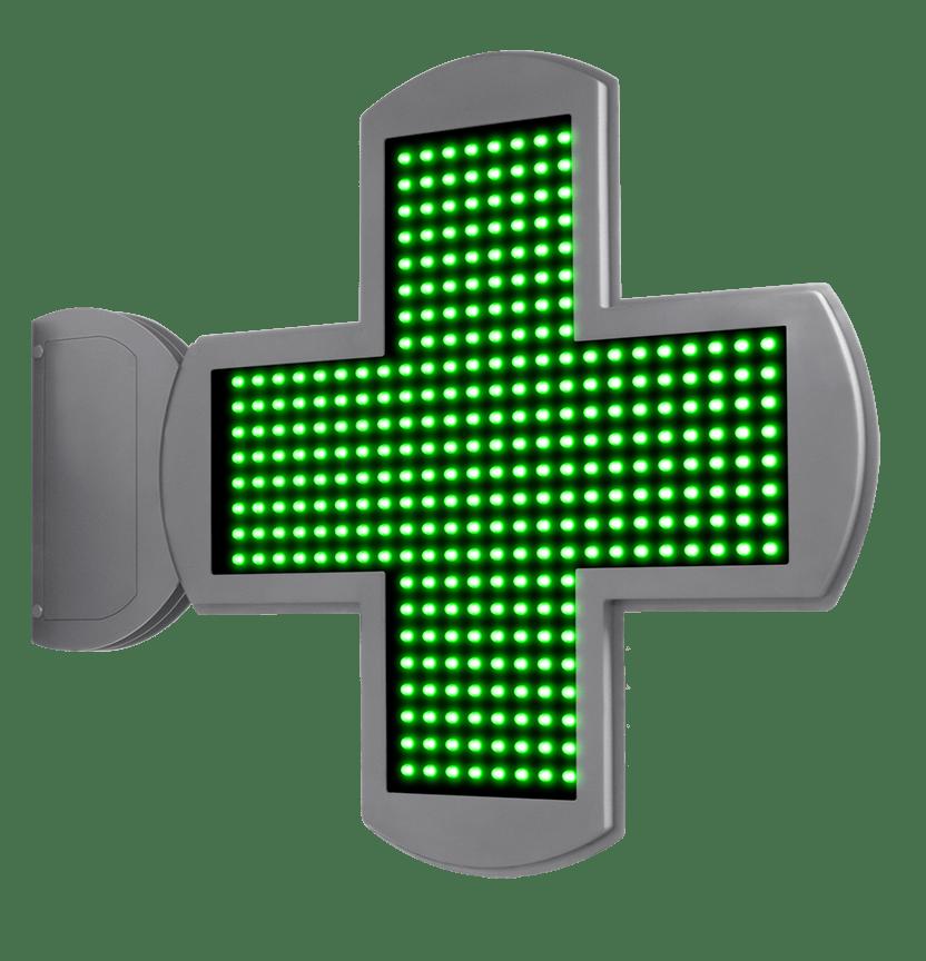 Cruces de Farmacia LED con perfil ultraslim