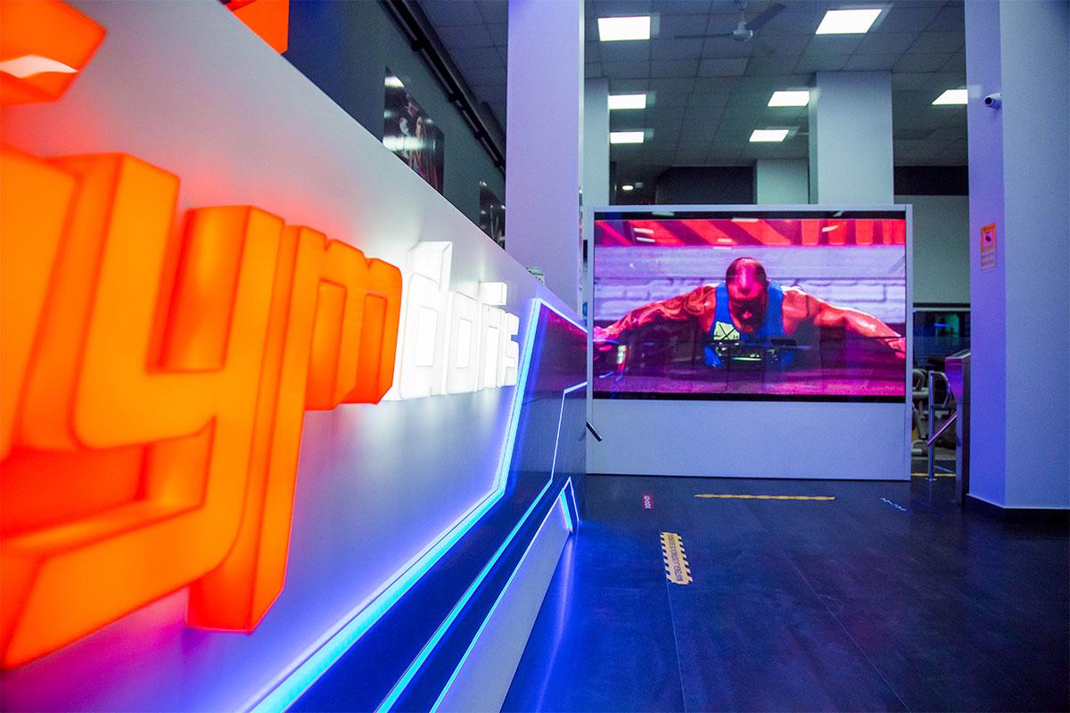 Videomarcador LED Full Color en el Pabellón Príncipe de Asturias en Murcia