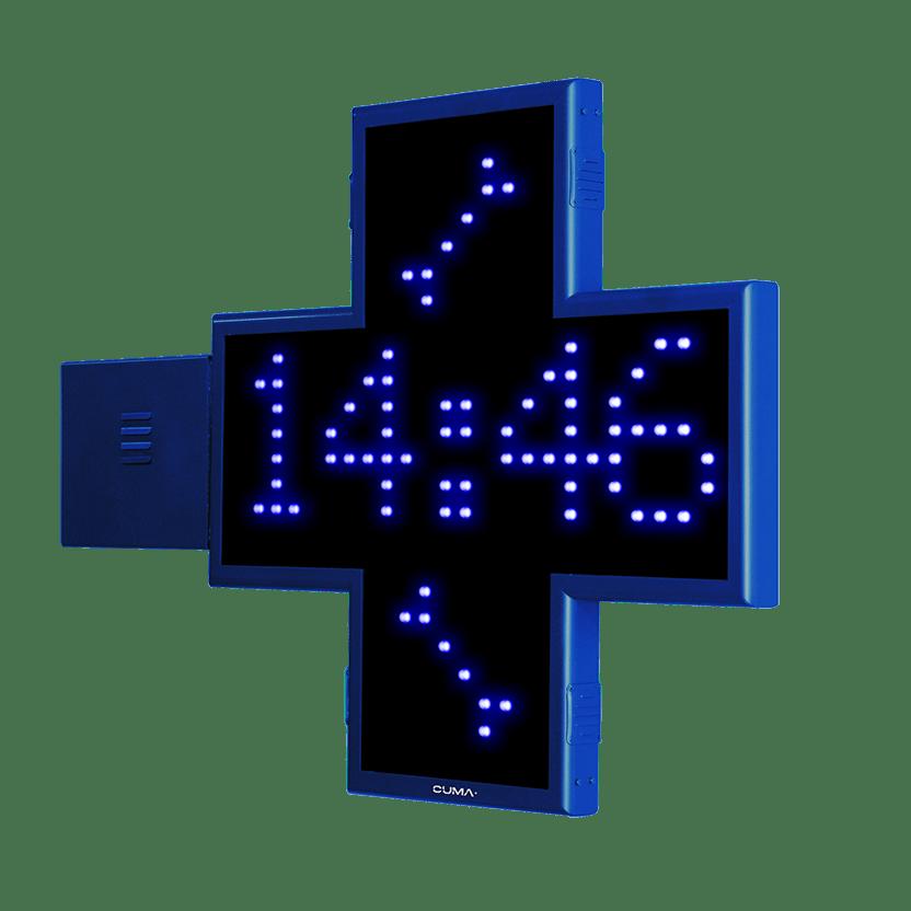 Cruz para clínica Veterinaria LED con animaciones 2D